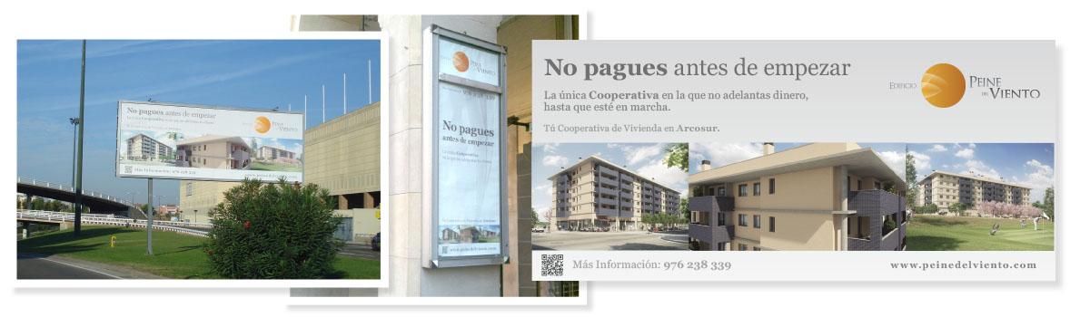 vallas publicitarias Zaragoza Peinedelviento