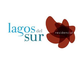 Lagos del sur logotipo