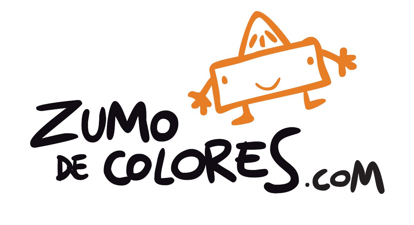Zumo de colores logotipo