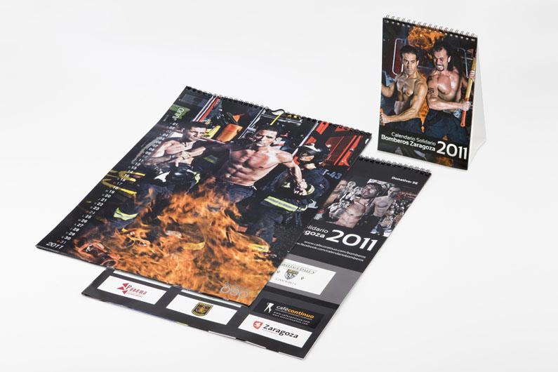 Calendario Bomberos 2011
