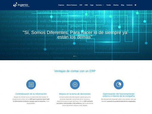 Ingenia Aragon web