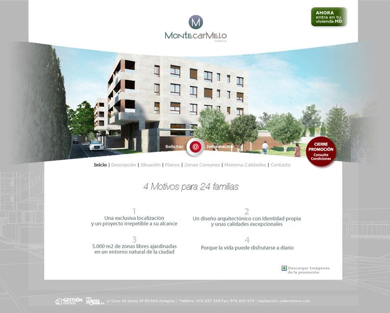 Residencial Montecarmelo web