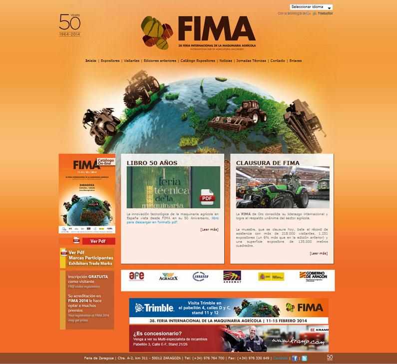 Fima Agricola web