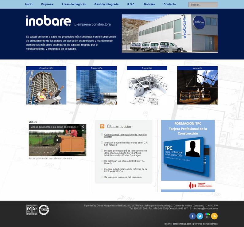 Inobare web