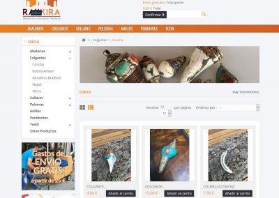 Rakkira tienda online