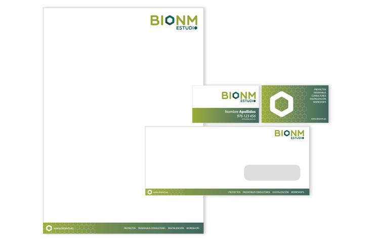 Logotipo Bionm